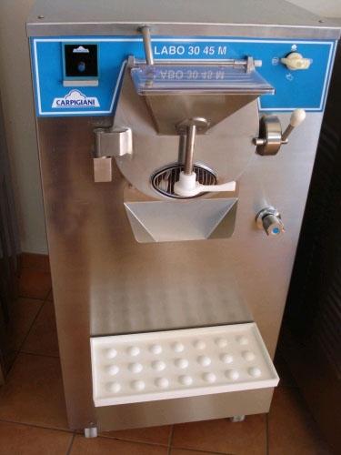 ismaskine med kompressor
